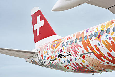 The new livery | SWISS: proud partner of the Fête des Vignerons